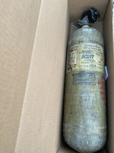 Scott 4500psi 45min Scba Luxfer Carbon Air Tank 2005 Used