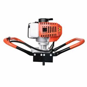 52cc 7500rpm 1 9kw Earth Auger Powerhead Gas Powered Post Hole Digger Machine