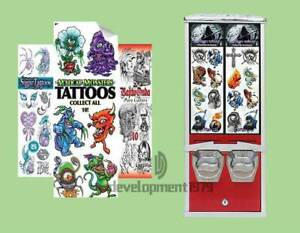Automatically Tattoo Cards stickers Vending Machine Tattoo Vending Machine