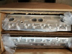 Promaxx 9183hr Sbc Cylinder Heads 183cc Aluminum 2 02 1 60 New In Box