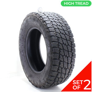 Set Of 2 Used Lt 285 65r18 Nitto Terra Grappler G2 A t 125 122r 12 5 14 32