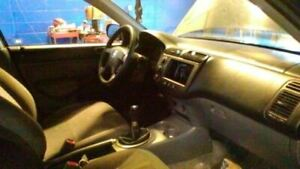 Console Front Floor Sedan With Cup Holder Fits 01 05 Civic 42
