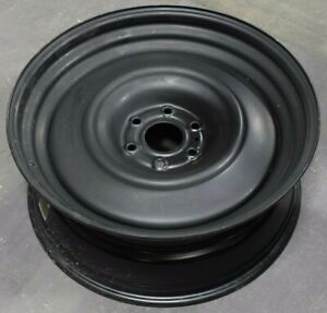 22 22x9 Gm Chevy Transporter 6x5 5 Black Steel Wheel Rim