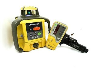 Topcon Rl h4c Self Leveling Rotary Laser Level Ls 80l Receiver