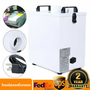 80w Pure Air Fume Extractor Smoke Purifier For Cnc Laser Engraving Machine Usa