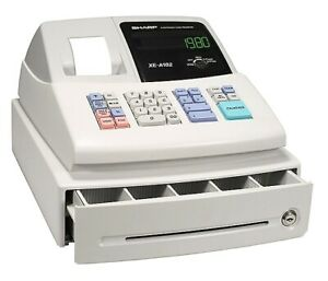 Sharp Electronic Cash Register Xe a102 New