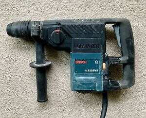 Bosch 11222evs 1 1 8 Sds plus Rotary Hammer Drill With Steel Case And 5 Bits