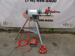 Ridgid 300 T 2 Pipe Threader Threading Machine 2 Dies 535 1224 1822 Great Shape