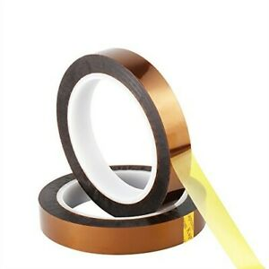 100x Roll Lot Kapton Polyimide Tape 25mm X 108ft