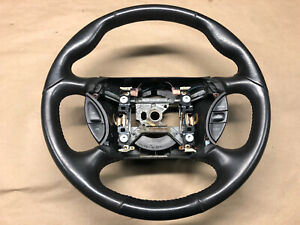2003 2004 Ford Mustang Svt Cobra 10th Anniversary Oem Leather Steering Wheel