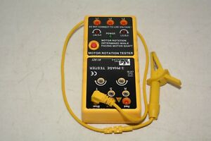 Ideal Electrical 61 521 3 Phase Motor Rotation Tester