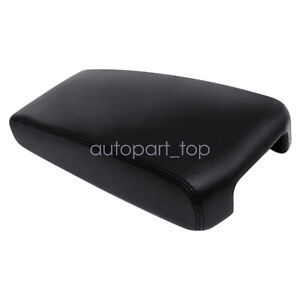 Fits 2009 2014 Nissan Maxima Leather Center Console Lid Armrest Cover Skin Black