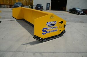 17 Hd Arctic Sectional Snow Pusher Snow Plow Box Plow Brand New