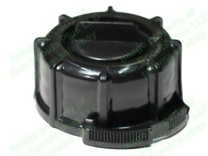 Genuine Midwest Gas Can Company Black Screw Cap Collar And Stopper Incl Gasket
