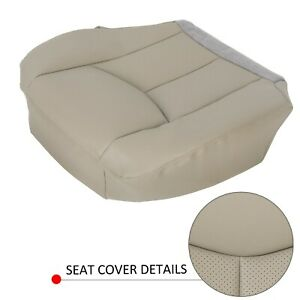 For 2003 2004 2005 2006 Cadillac Escalade Driver Side Bottom Seat Cover Tan