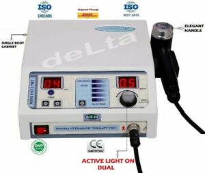 Ultrasound Therapy With Elegant Handle Physiotherapy Therapeutic Active Light Ce