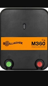 Electric Fence Energizer M360 Gallagher New Out Of Package