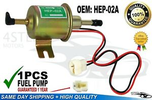 New Fuel Pump Petrol Diesel Low Pressure Universal Electric Pump Hep 02a12v