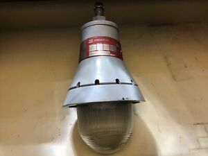 Crouse Hinds Hazardous Location Explosion Proof Light Fixture
