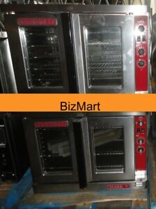 Used Blodgett Mark V 2 speed Double Gas Convection Oven
