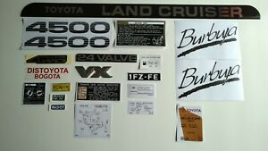 Toyota Land Cruiser Fzj80 Decals And Emblems