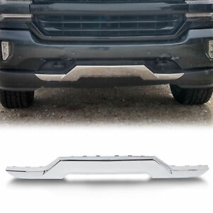 Front Bumper Chrome Skid Plate For Chevy 16 18 Silverado 1500 Gm1044128 23243083