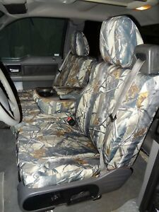 2004 2008 Ford Truck F150 Xlt Super Cab Front Exact Seat Covers In Camo Twill