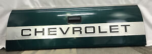 88 98 Chevrolet Chevy Silverado Tailgate Tail Gate Assembly Green Oem Excellent