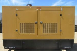 200 Kw Olympian Perkins Diesel Generator Genset 6 Cyl 3 Phase 715 Hrs