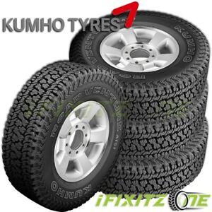 4 Kumho Road Venture At51 Lt265 75r16 123 120r 10p All Terrain Jeep Tundra Tires