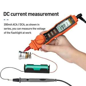 A3002 Digital Multimeter Pen Type 4000 Counts With Non contact Ac dc Tester A1v2