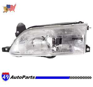 Fits Toyota Corolla 1993 97 Driver Left Side Lh Headlamp Assembly To2502107