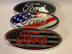 F 150 Emblem 9 Oval Tailgate Grille Badge Fits Ford F 150