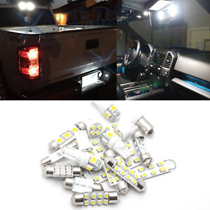 Led Light Kit For Chevy Silverado 1999 2006 Interior Package Cargo License 12x