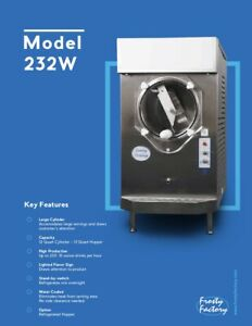 Frosty Factory 232w Cylinder Type Non carbonated Frozen Drink Machine