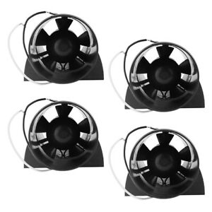 4x 12v 3 In line Bilge Blower Fan Marine Rv Cabin Engine Ventilation 145cfm
