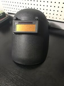 Lightweight Flip Front Welding Helmet With Gold Auto Lens Free Shipping