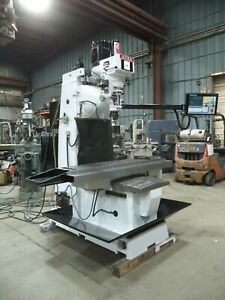 Centroid M 400 Cnc Control On An Acra Dm 4vs Bed Type Vertical Milling Machine