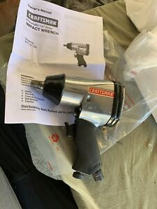 New Craftsman 1 2 Drive Pneumatic Impact Wrench air Driver Tool