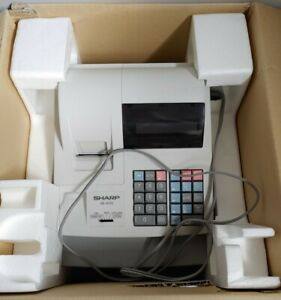 Sharp Xe a110 Electronic Cash Register With Keys