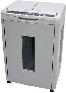 Micro Cut Paper Card Office Shredder Boxis Autoshred 300 sheet Af300 14 Gallon