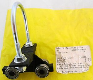 Mcmaster carr 3358t84 Cable Trolley