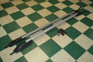 11 15 Explorer Gray Luggage Roof Rack Side Rails Pair Assembly W Hardware Oem