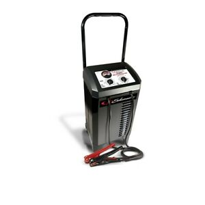 Manual Wheeled Battery Chargers With Engine Start 150 35 15 5 Amp Scusc1437