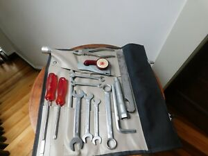 1966 67 Porsche 911 Swb Tool Kit Tool Kit Roll Absolutely Beautiful Condition