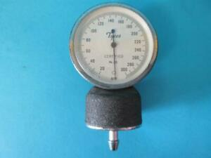 Lot Of 3 Vintage Tycos Certified Blood Pressure Gauge Head N 35 0 300 W clip