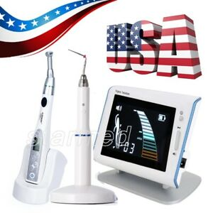 Dental Endodontic Endo Motor Handpiece root Canal Apex Locator heated Pen