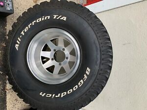 Set Of 4 Ford Wheels Tires 5x5 5
