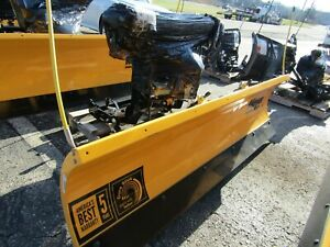 New 2017 Assembled Meyer 6 8 Drive Pro Snow Plow Standard Operating System