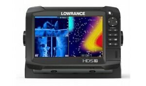 New Lowrance HDS Carbon 7 TotalScan Portable Fish Finder System with Transducer